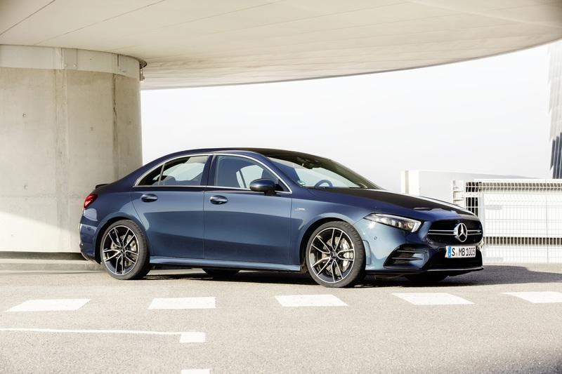 2020 Mercedes-AMG A 35 Unveiled With Over 300 Horsepower