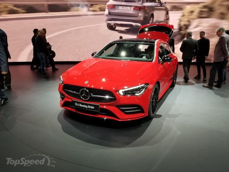 2020 Mercedes-Benz CLA Shooting Brake Exterior - image 827976