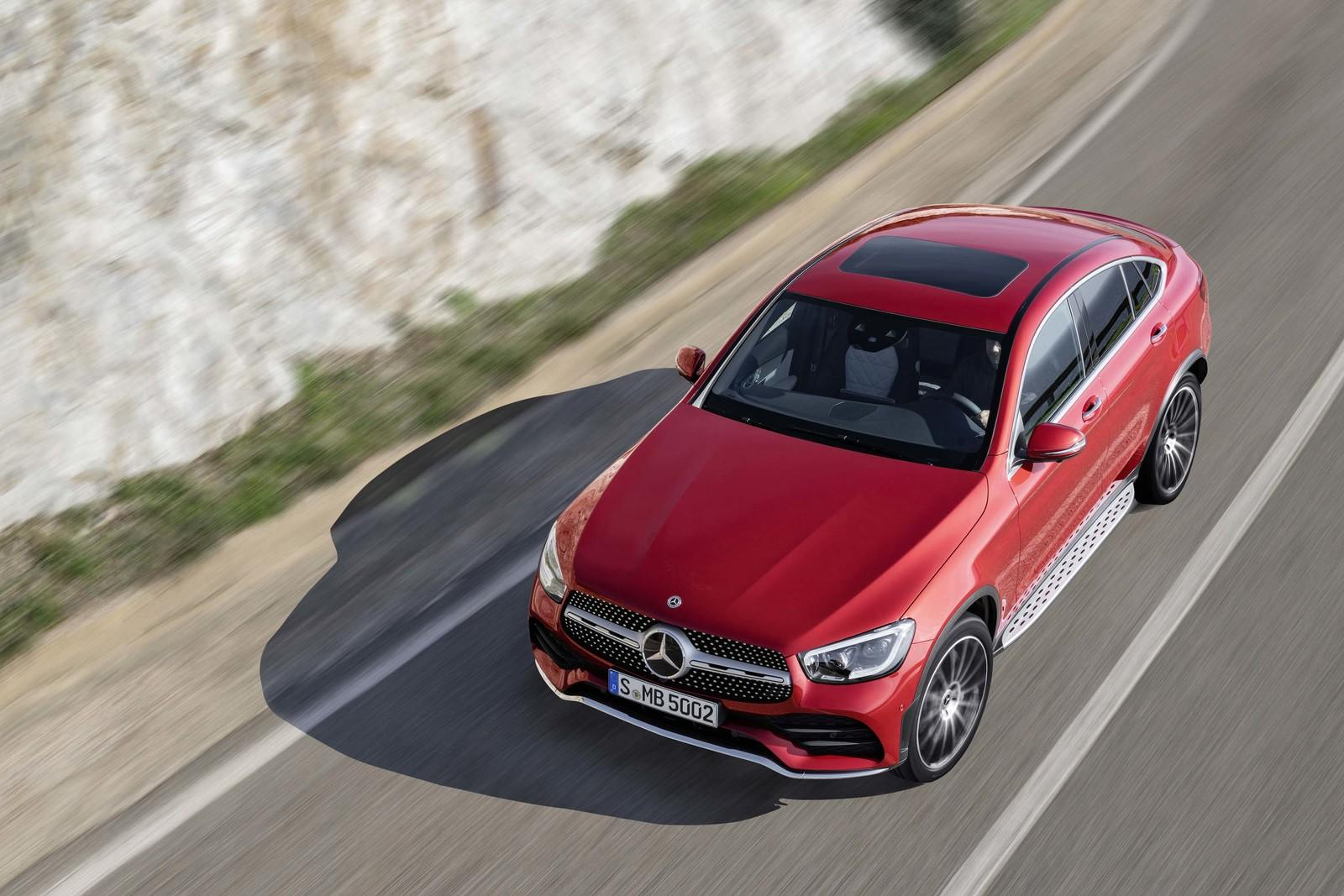 2020 mercedes benz glc coupe unveiled top speed. Black Bedroom Furniture Sets. Home Design Ideas