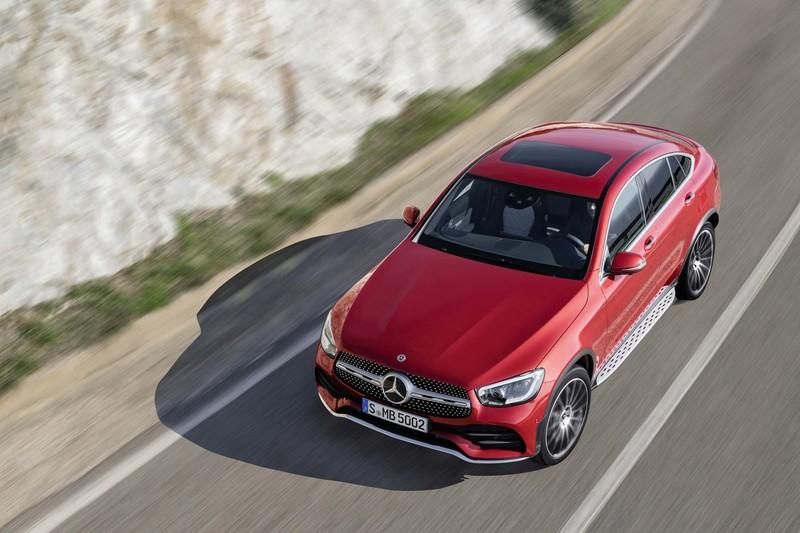 2020 Mercedes-Benz GLC Coupe Unveiled