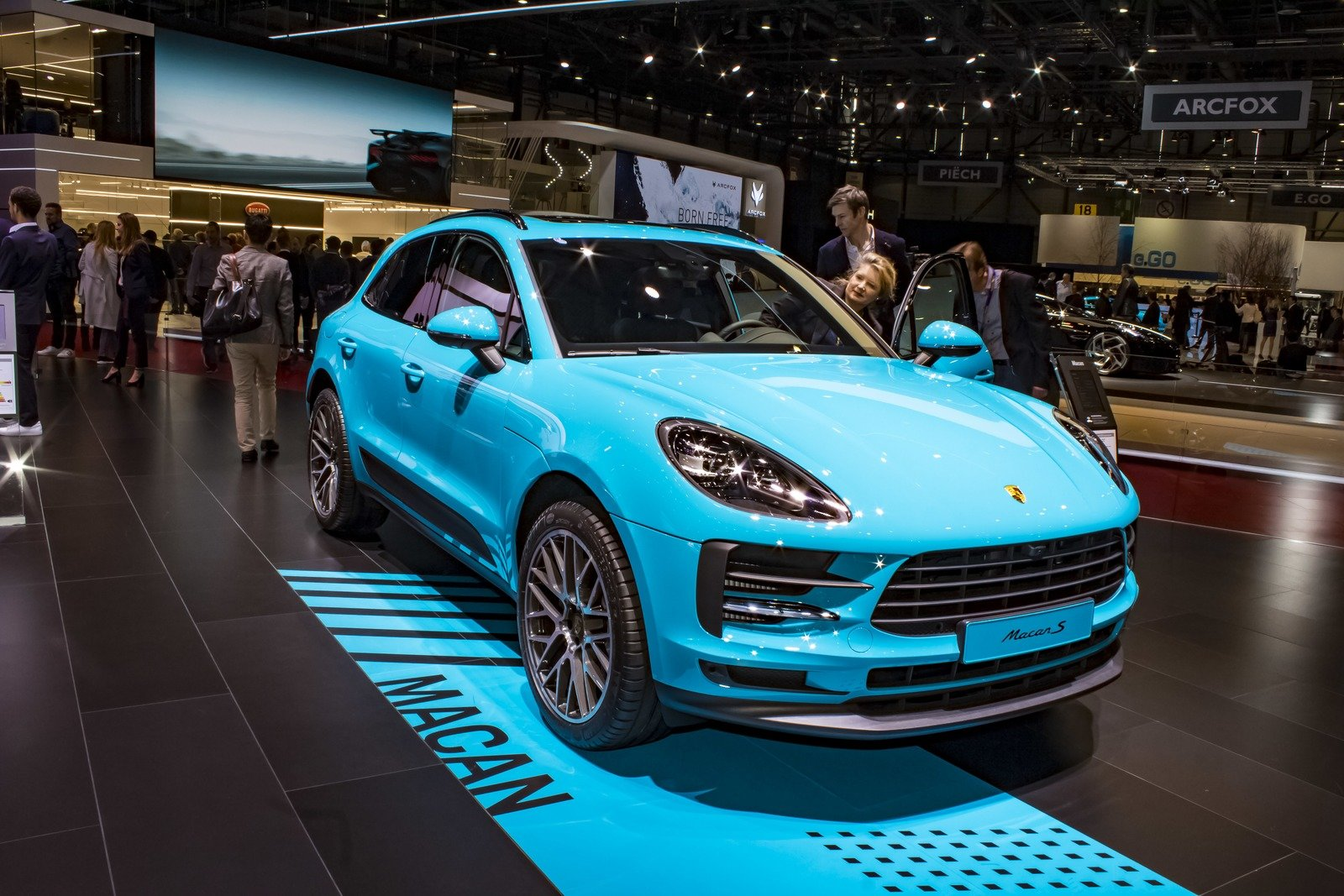 2020 Porsche Macan S Top Speed