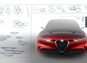Alfa Romeo Tonale concept previews Jeep Renegade-based SUV with hybrid power - image 827614