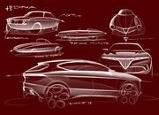 Alfa Romeo Tonale concept previews Jeep Renegade-based SUV with hybrid power - image 827617