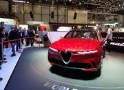 Alfa Romeo Tonale concept previews Jeep Renegade-based SUV with hybrid power - image 827944