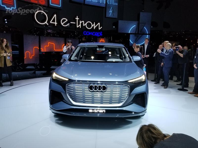 Audi Brings An Electric Pseudo-SUV To Geneva In the Form of the Q4 E-tron