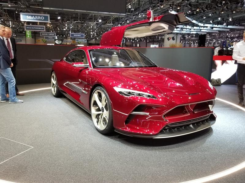 Italdesign Unveils At Geneva A Dramatic Grand Tourer Worthy of the name DaVinci