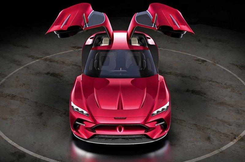 Italdesign DaVinci Concept Showcases Gullwing Door Before Geneva Debut
