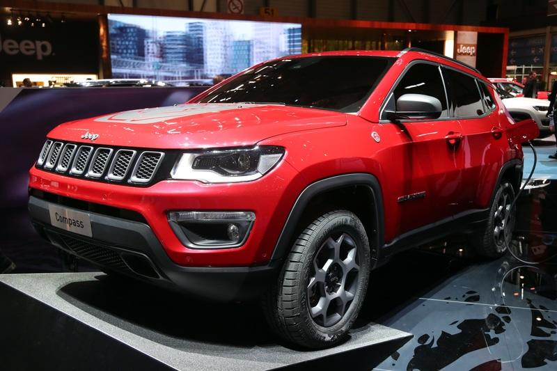 Jeep Compass Plug-in Hybrid Debuts in Geneva with 31-mile EV range
