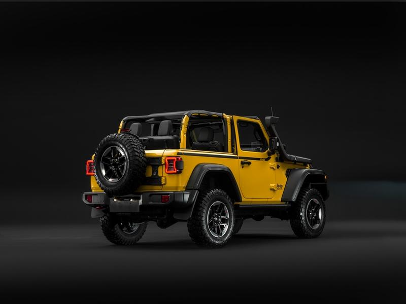 The 2019 Jeep Wrangler Rubicon 1941 is the Only Outdoor Companion You'll Need During Your European Adventures
