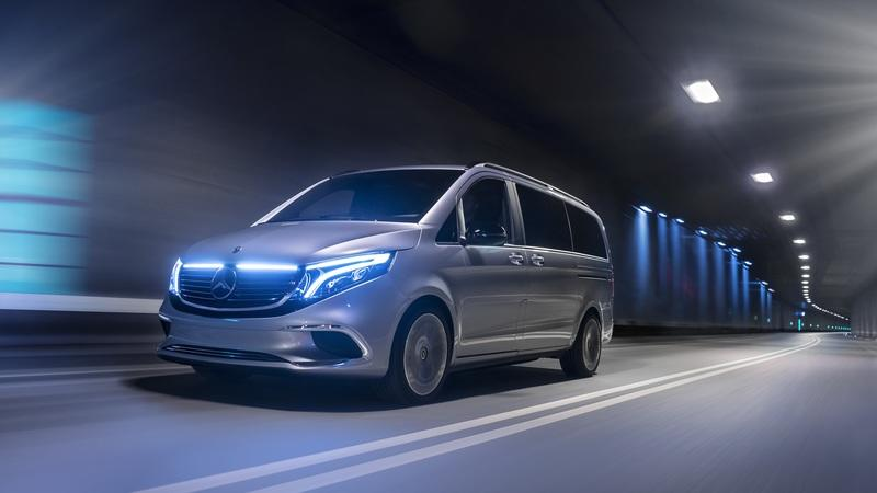 Mercedes Concept EQV Previews the World's First Premium Electric Van
