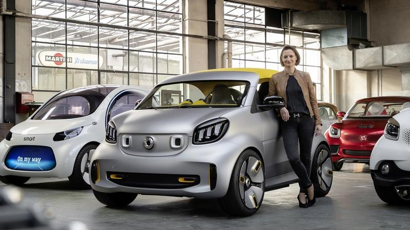 2019 Smart ForEase+ Concept
