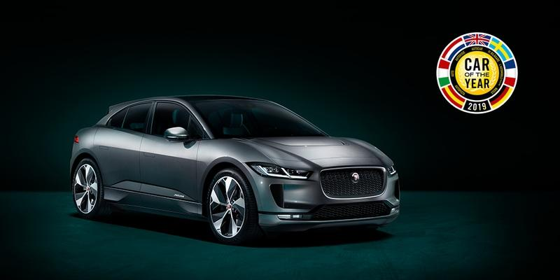 The 2019 Jaguar I-Pace Wins European Car of the Year at the Geneva Motor Show