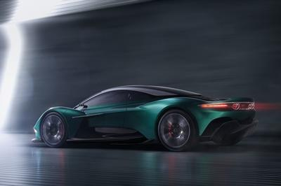 Watch out Ferrari and McLaren, the mid-engined Aston Martin Vanquish is coming for you!