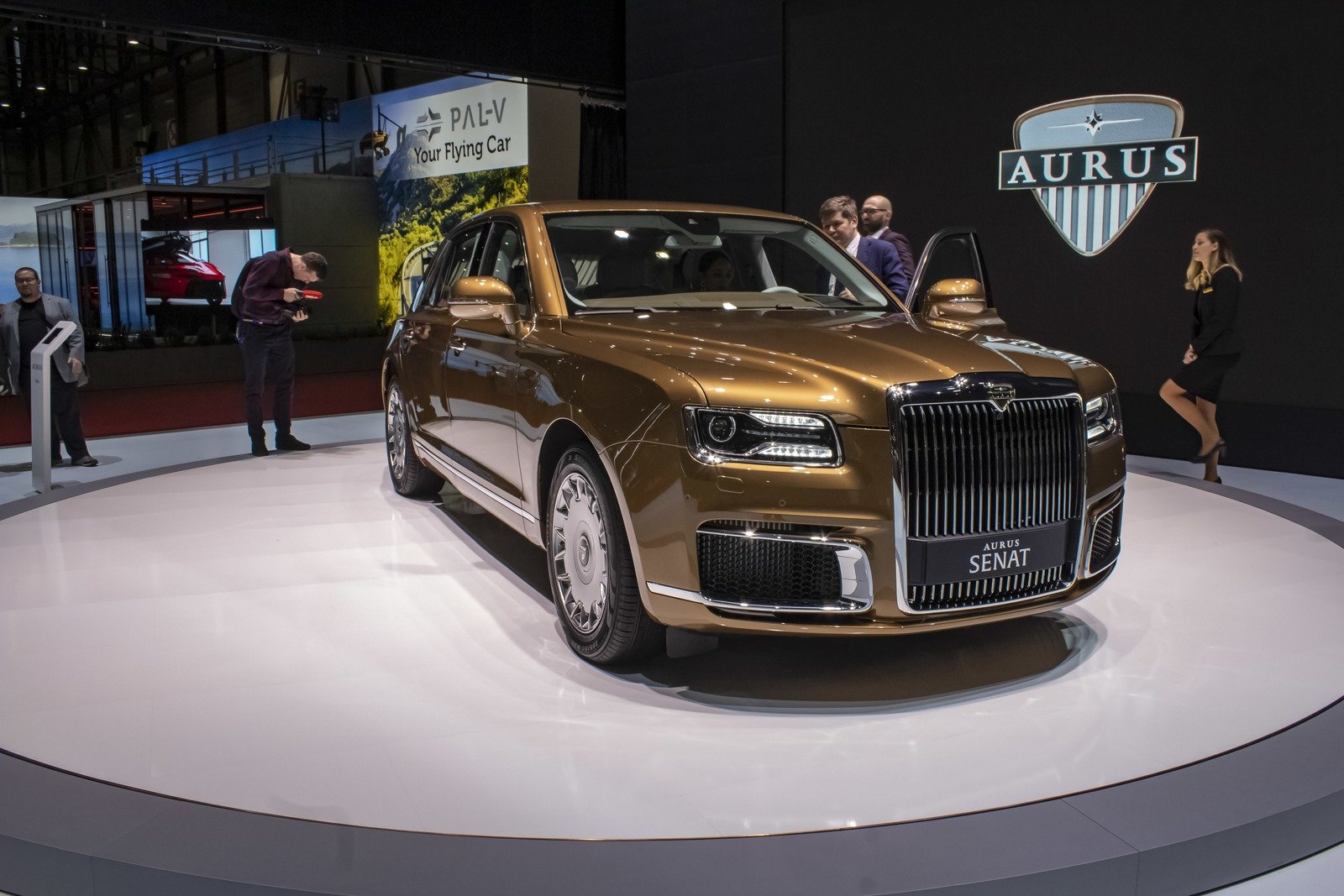 2019 Aurus Senat Top Speed