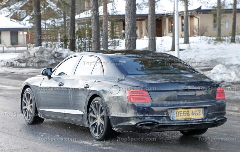 2019 Bentley Flying Spur Hybrid