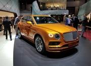 Bentley Launches The 2019 Bentayga Speed At Geneva and It's Faster Than The Urus - image 827484
