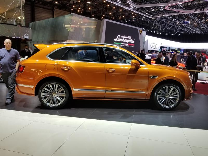 Bentley Launches The 2019 Bentayga Speed At Geneva and It's Faster Than The Urus