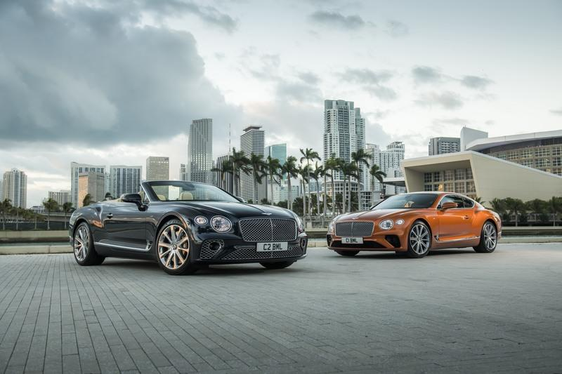 The Bentley Continental GT V8 Coupe and Convertible are Surprisingly Quick and Efficient