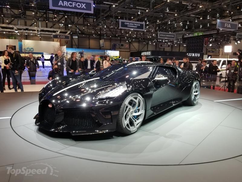 2019 Bugatti La Voiture Noire - Quirks and Facts
