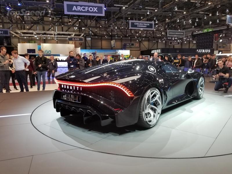 Unique Bugatti La Voiture Noire Pays Tribute to the iconic Atlantic in Geneva