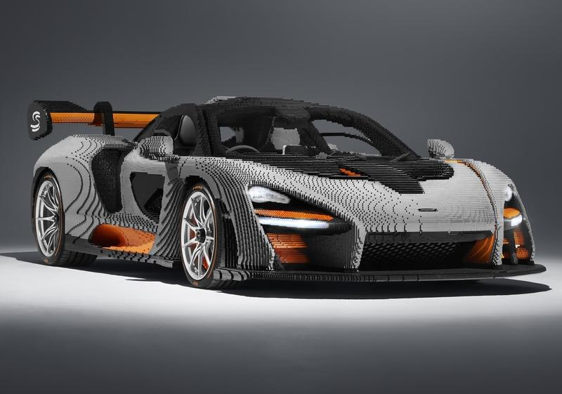 Check Out This Outrageously Detailed Full-Scale Lego McLaren Senna