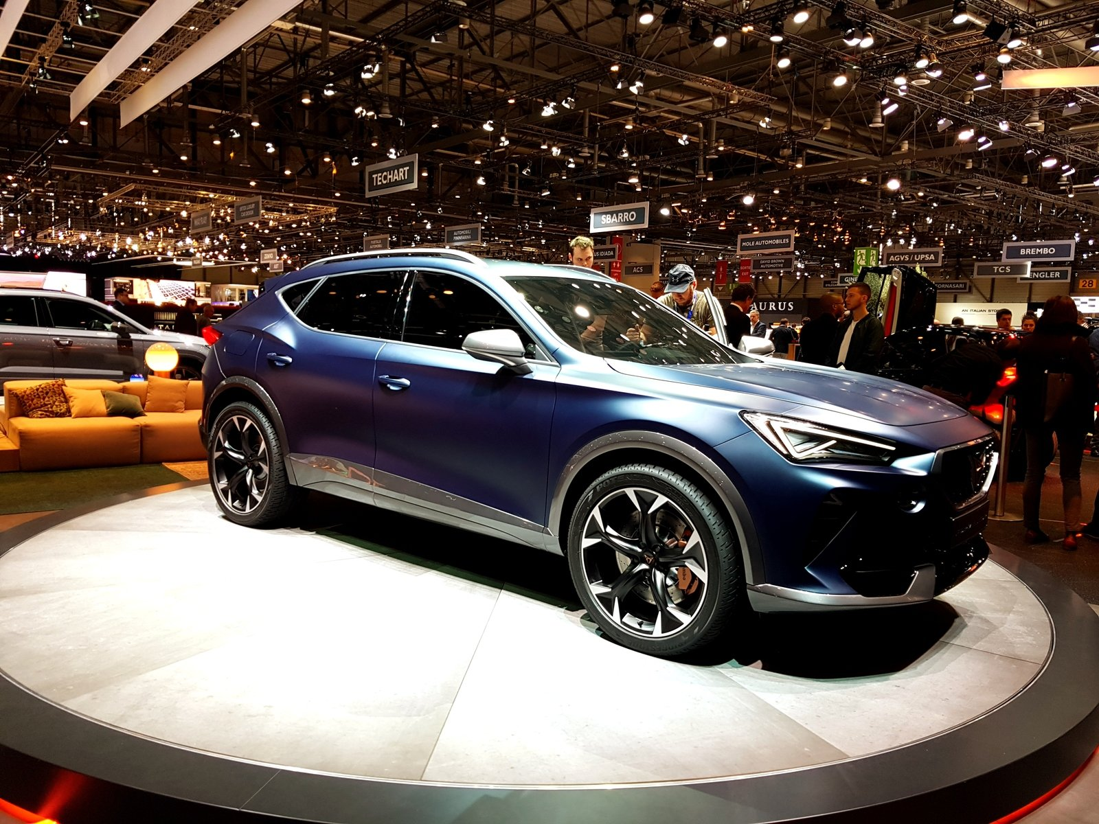 Cupra Formentor Concept Steals The Show At SEAT's Geneva Stand Pictures, Photos, Wallpapers ...