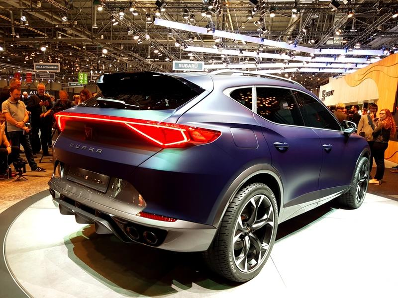 Cupra Formentor Concept Steals The Show At Seat S Geneva