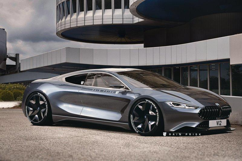 Ever Wonder What the BMW 8 Series Would Look Like if it was Mid-Engined? This Rendering is Your Answer