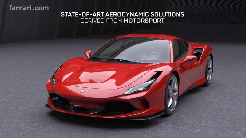 Ferrari Just Detailed the F8 Tributo's Aerodynamics and It's Sheer Genius