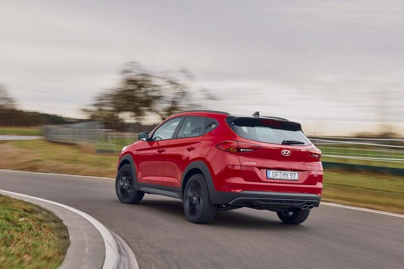 Hyundai Gives the 2020 Tucson a Stiffer Chassis, Sportier Styling with an N-Line Badge Exterior - image 832028