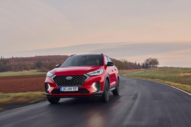 Hyundai Gives the 2020 Tucson a Stiffer Chassis, Sportier Styling with an N-Line Badge Exterior - image 832018