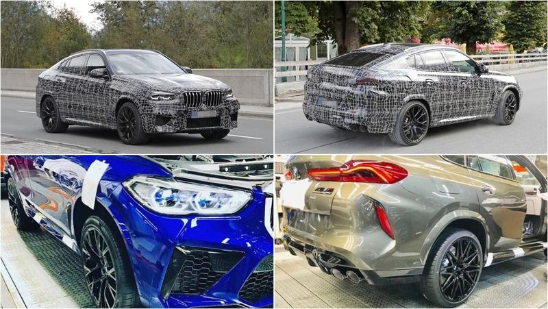 Instagram Just Graced Us With More Leaked Images of the 2020 BMW X5 M and X6 M Competition!