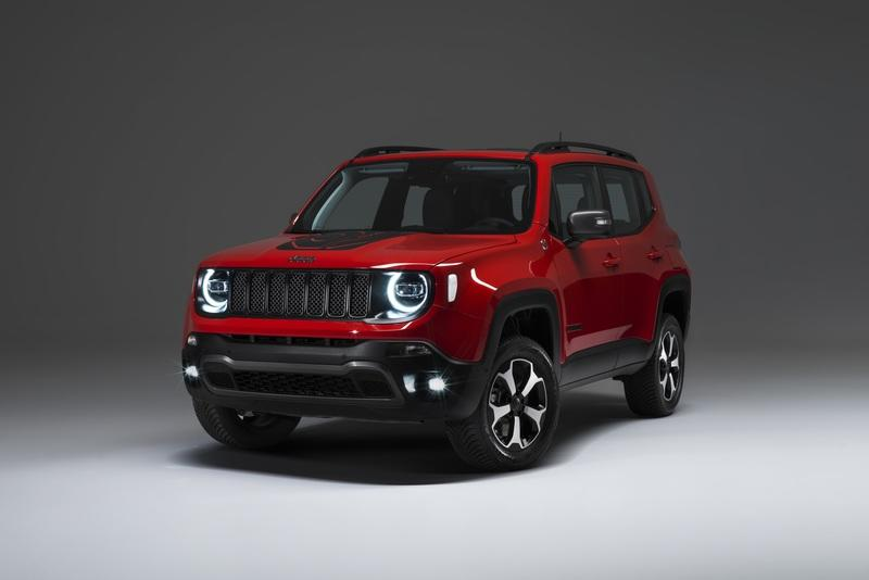 Jeep Enters the Electric Market with Renegade Plug-in Hybrid