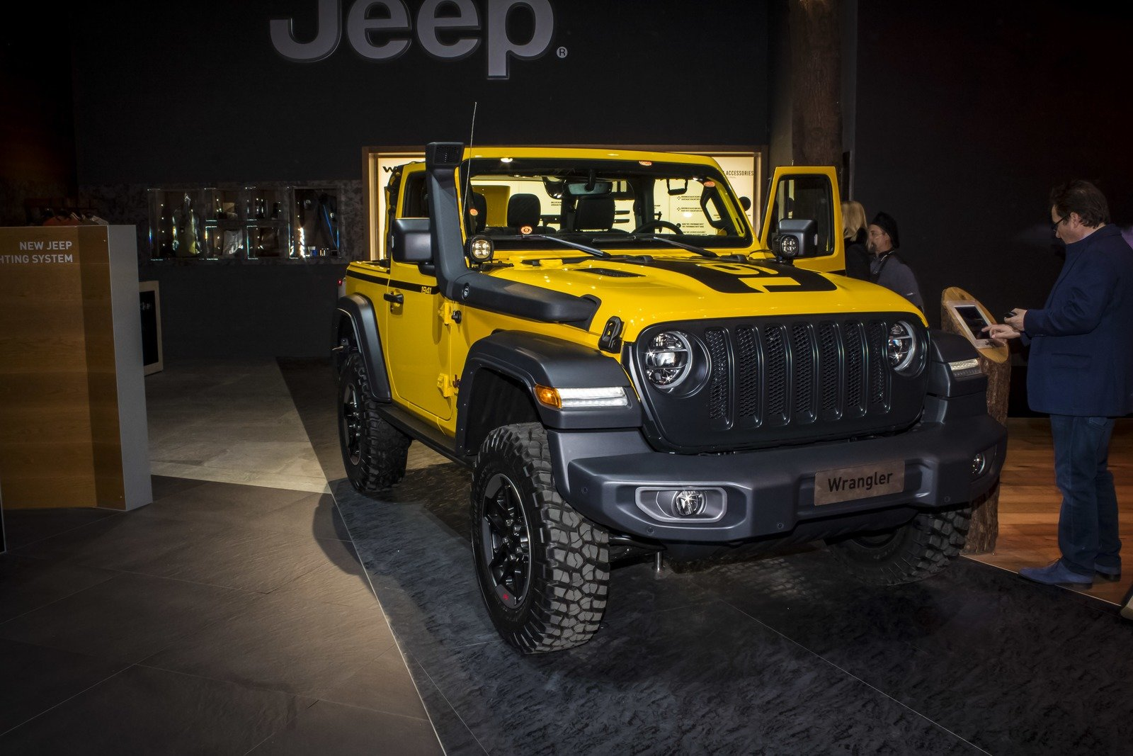 2019 jeep wrangler 1941 edition by mopar pictures photos wallpapers top speed. Black Bedroom Furniture Sets. Home Design Ideas