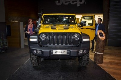 47230da4 The 2019 Geneva Motor Show afforded Jeep the opportunity to showcase the  Wrangler Rubicon 1941, a Mopar-tuned off-roader wearing just about every  bit and ...