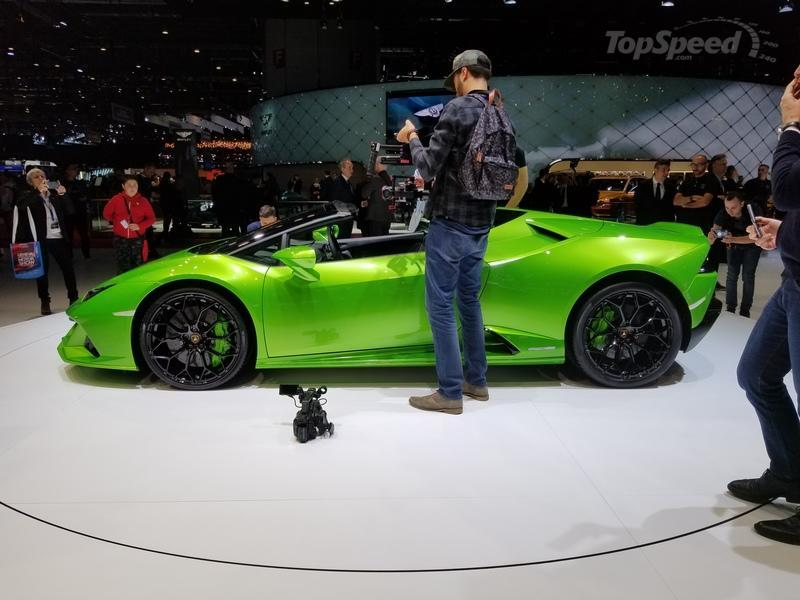 Lamborghini Huracán EVO Spyder Spices Up Lambo's Open-Top Onslaught At Geneva