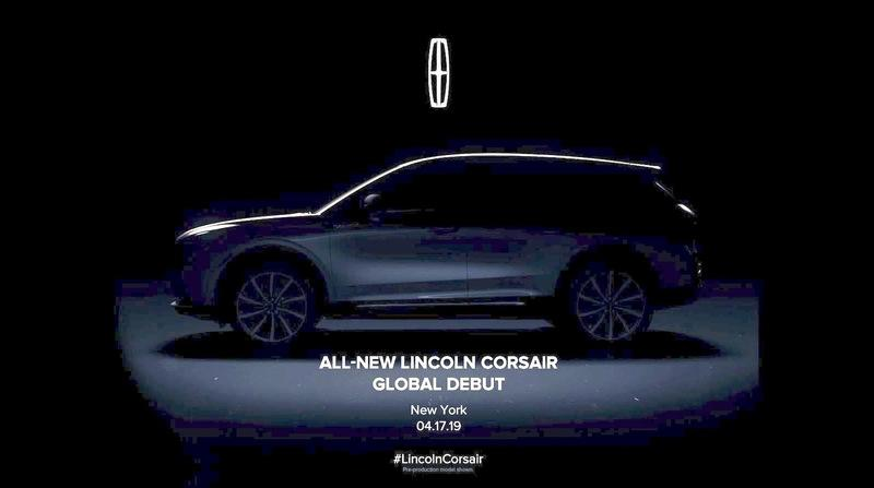 Lincoln's New SUV Will Revive the Corsair Name