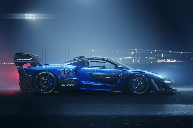 The 2020 McLaren Senna GTR Has Extra Power and Downforce for a Track-Worthy Cause
