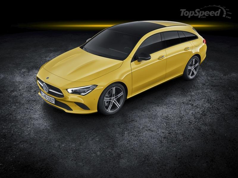 2020 Mercedes-Benz CLA Shooting Brake Exterior - image 827386