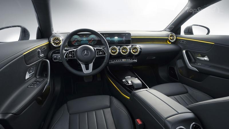 2020 Mercedes-Benz CLA Shooting Brake Interior - image 827393