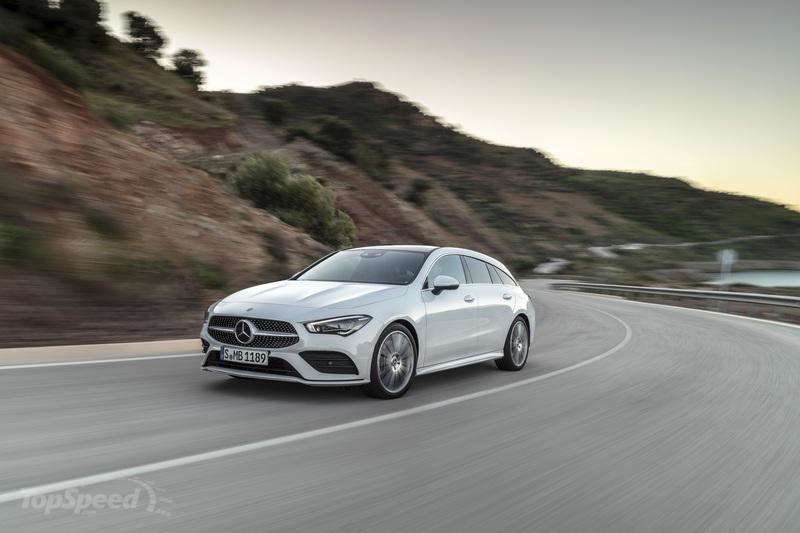 2020 Mercedes-Benz CLA Shooting Brake Exterior - image 827394