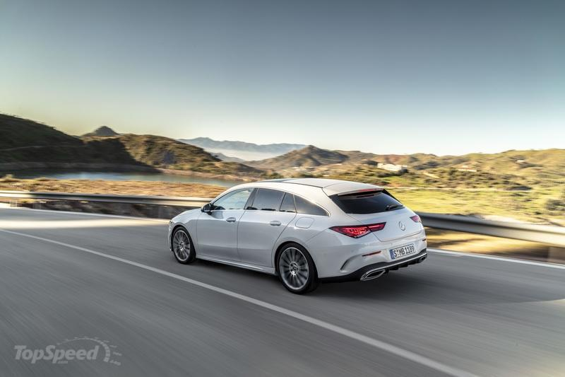 2020 Mercedes-Benz CLA Shooting Brake Exterior - image 827396