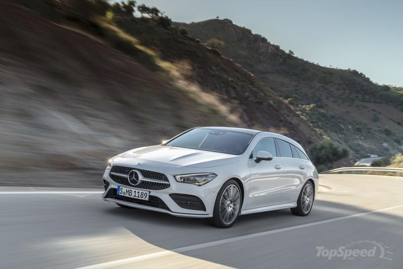 2020 Mercedes-Benz CLA Shooting Brake mixes style and space in Geneva - image 827398
