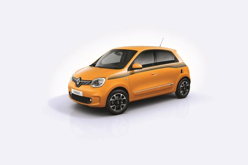 2019 Renault Twingo shows up with new face and engine in Geneva - image 827273