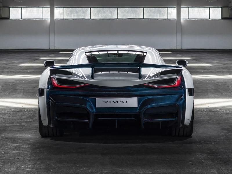 The Rimac C Two Shows Off New Livery at the 2019 Geneva Motor Show - image 827048