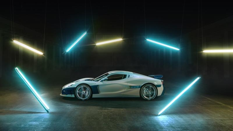 The Rimac C Two Shows Off New Livery at the 2019 Geneva Motor Show - image 827035