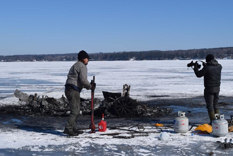 Tesla Goes Ice Fishing, Burns Up, Doesn't Melt Ice