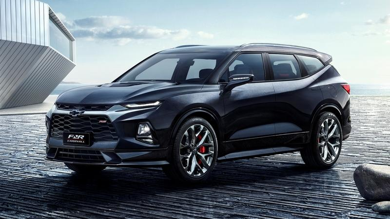 The 2018 Chevy FNR Carry-All Concept Will Come to Life as a Three-Row Chevy Blazer XL