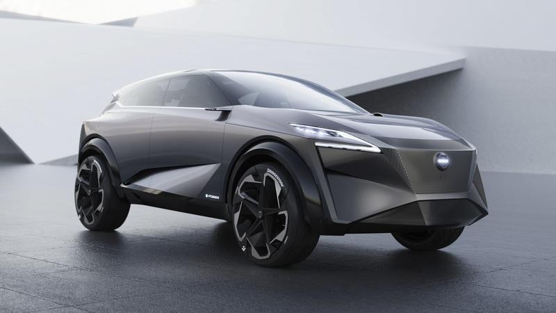 The 2019 Nissan IMQ Concept Previews Questionable Crossover Design for the Future, But Nice Tech
