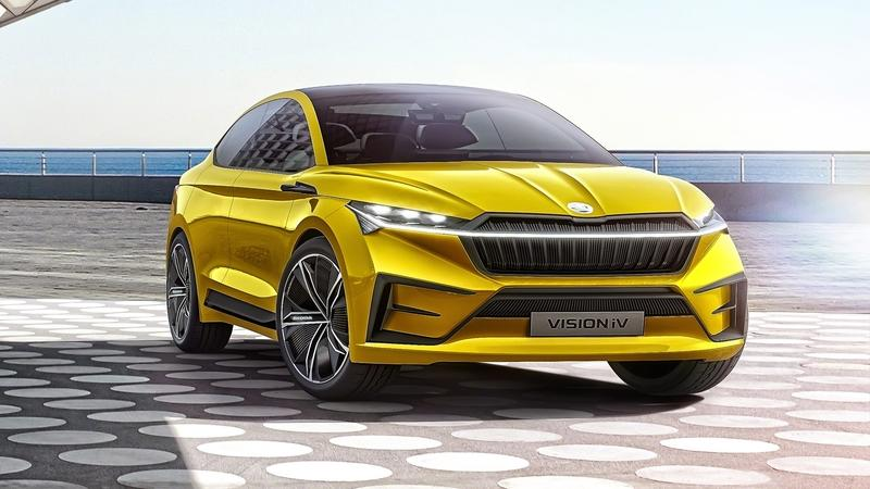 The 2019 Skoda Vision IV Concept is Here to Prove That the Czech Automaker is Taking its Electrification Plans Seriously